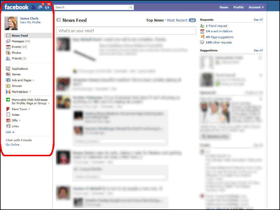 facebook s new design bizmsolutions